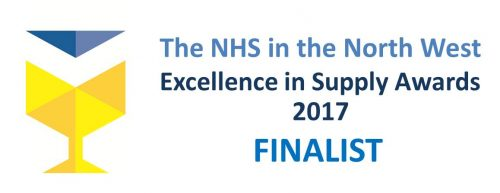 NHS NW Excellence in Supply Awards 2017 Finalist